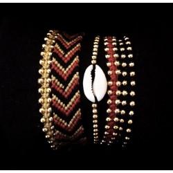 Set de 5 bracelets
